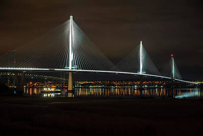Photograph - The Queensferry Crossing by Ross G Strachan