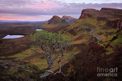 Photograph - The Quiraing Mountains Just Before Sunrise by IPics Photography