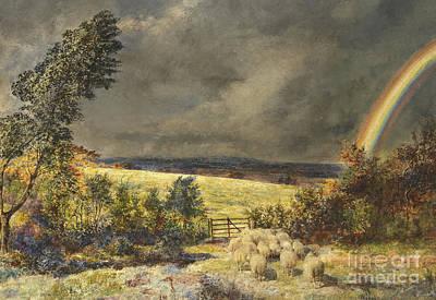 Painting - The Rainbow, 1858 by William Davis
