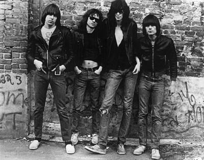 Photograph - The Ramones by Roberta Bayley