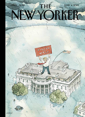 Painting - The Real Emergency by Barry Blitt