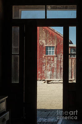 Photograph - The Red Barn by Sandra Bronstein