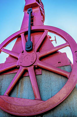 Photograph - The Red Cog by Dan Urban