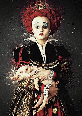 Recently Sold - Surrealism Digital Art - The Red Queen by Zapista OU