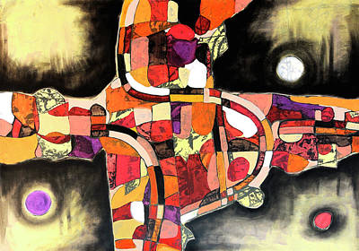 Painting - The Reeping by Mark Jordan