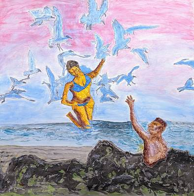 Painting - The Rescue by John Gerstner
