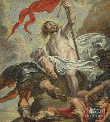 Painting - The Resurrection Of Christ By Rubens by Peter Paul Rubens