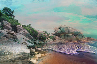 The Rising Tide Montage Art Print