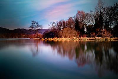Photograph - The River by Christine Sponchia