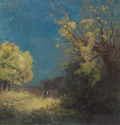 Reptiles - The Road at Peyrelebade, 1880 by Odilon Redon