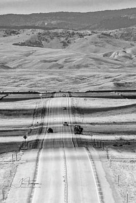 Photograph - The Road From Casper by Jim Thompson