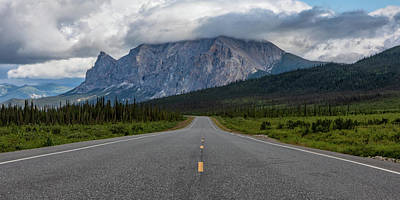 Photograph - The Road To Mt. Sukakpak  by Susan Pantuso