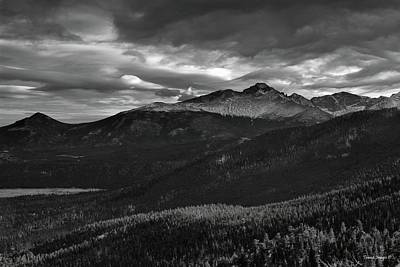 Photograph - The Rockies by Wesley Nesbitt
