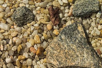 Photograph - The Rocks And Pebbles by Thomas Vasas