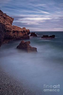 Photograph - The Rocks And The Sea by Hernan Bua