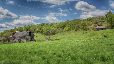 Photograph - The Rolling Hills Of Wisconsin by Susan Rissi Tregoning