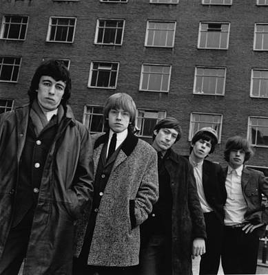 Photograph - The Rolling Stones by Evening Standard