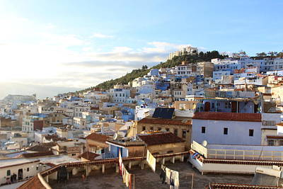 The Rooftop View In Chefchaouen Morroco Original