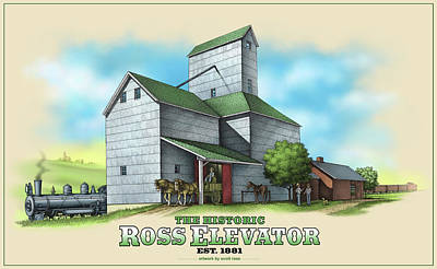 The Ross Elevator Art Print