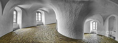 Photograph - The Round Tower, Copenhagen by Kira Bodensted