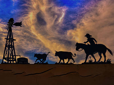 Photograph - The Roundup by Paul Wear