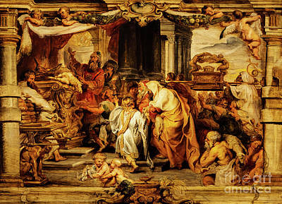 Animal Surreal - The Sacrifice of the Old Covenant by Rubens by Peter Paul Rubens