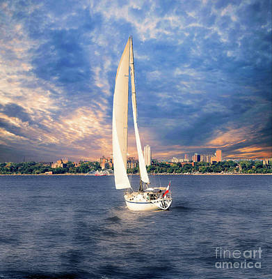 Photograph - The Sailboat by Elaine Manley