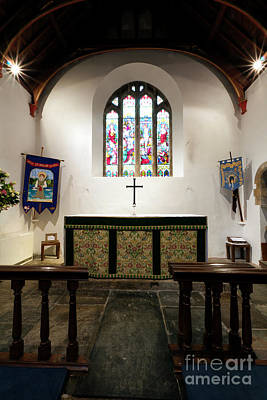Photograph - The Sanctuary Altar St Mylor by Terri Waters