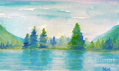 Painting - Somewhere To Be  by Wonju Hulse