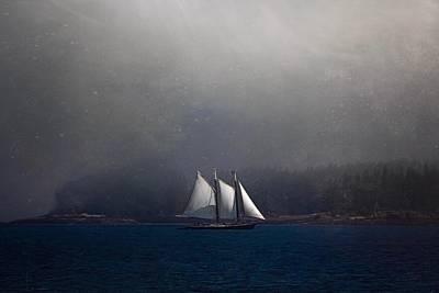 Photograph - The Schooner by Caroline Jensen