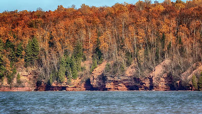 Photograph - The Sea Caves At Meyers Beach by Susan Rissi Tregoning