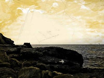 Photograph - The Sea   by Lucia Sirna