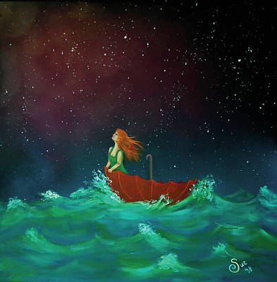 Painting - The Sea Of Life by Sue Art studio