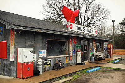 Photograph - The Shack Restaurant In Evergreen, Alabama by Bill Swartwout Photography