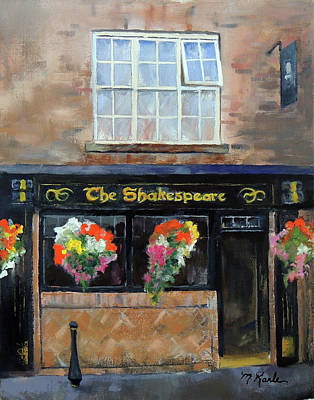 Painting - The Shakespeare by Marsha Karle