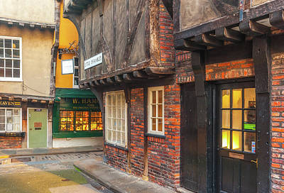Photograph - The Shambles, York, Yorkshire by David Ross