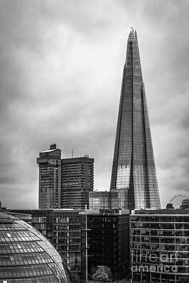 Photograph - The Shard by Arnaldo Tarsetti