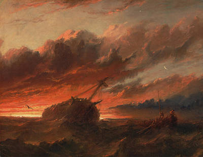 Painting - The Shipwreck  by Francis Danby