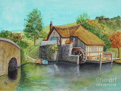 Painting - The Shire by Karen Fleschler