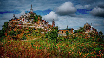 Photograph - The Silver Monastery by Chris Lord