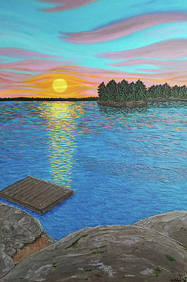 Painting - The Simple Life by Michelle Vyn