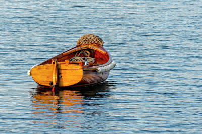 Photograph - The Skiff by Kay Brewer