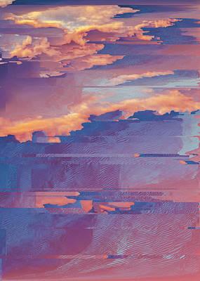 Digital Art - The Sky Series II.b by Jenny Filipetti