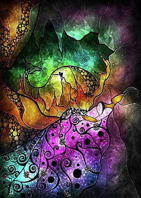Mixed Media - The Sleeping Beauty by Mandie Manzano