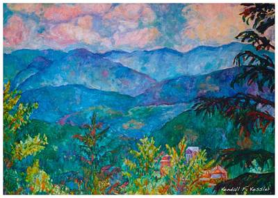 Painting - The Smoky Mountains by Kendall Kessler
