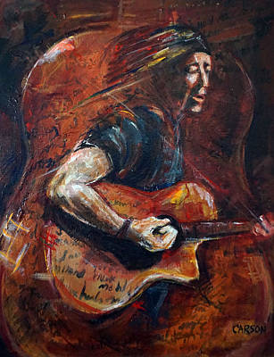 Painting - The Songwriter by Susan Carson