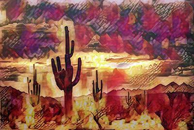 Photograph - The Sonoran Saguaro  by Saija Lehtonen