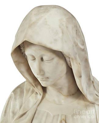 Sculpture - The Sorrowing Virgin  by Italian School