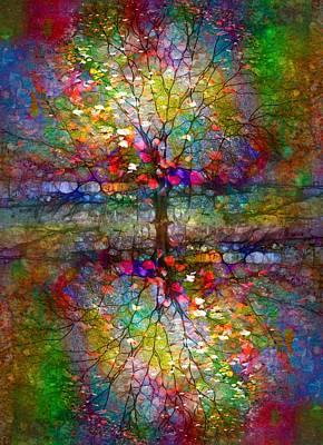 Digital Art - The Souls Of Leaves by Tara Turner