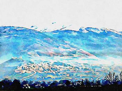 Photograph - The Spirit Of Assisi by Dorothy Berry-Lound